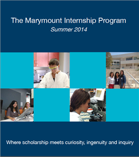 The Marymount Internship Program