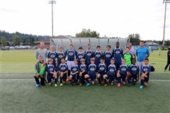 Middle School Boys' Soccer Team