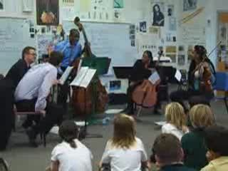 Music Alive Visits Lower School Strings Classes