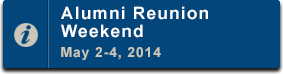 Reunion Weekend 2014