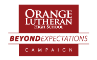 Beyond Expectations: The Campaign for Orange Lutheran High School