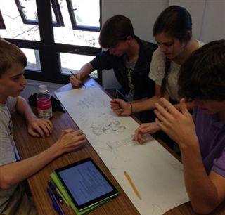 From iPads to ancient scrolls and back again: 10th grade explores Qing Dynasty