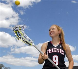 Friends senior Kailie Saudek loves lacrosse, values accountability, ready for college