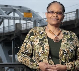 Fate brings Civil Rights activist, author Lynda Blackmon Lowery to Friends