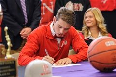 Davis has committed to play basketball at Indiana Wesleyan University next year.