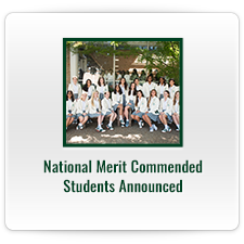 National Merit Commended Students Announced
